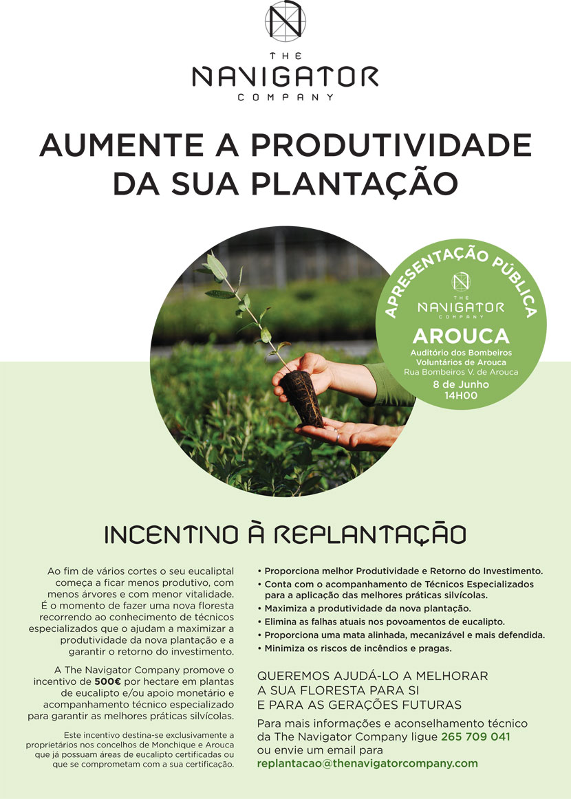 Replantacao Arouca